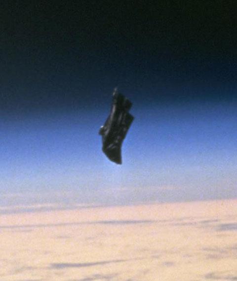 satellite chevalier noir