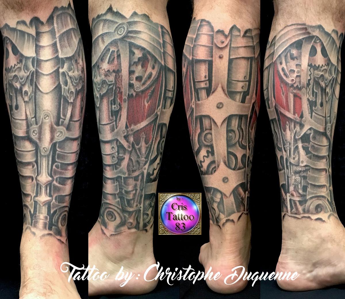tatouage mecanique
